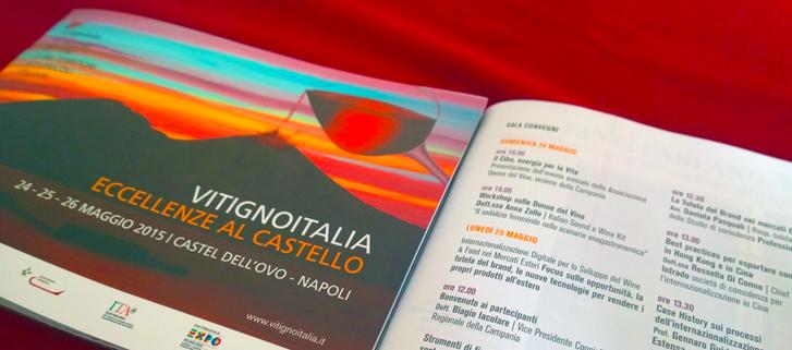 L'Internazionalizzazione Digitale a VitignoItalia, presso il Castel dell'Ovo di Napoli
