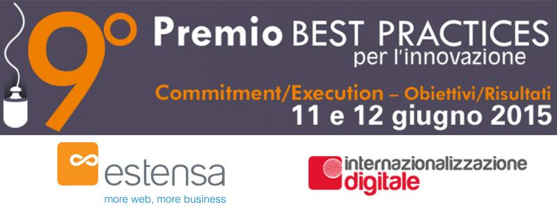Il progetto di Internazionalizzazione Digitale è candidato al Premio Best Practices per l'Innovazione