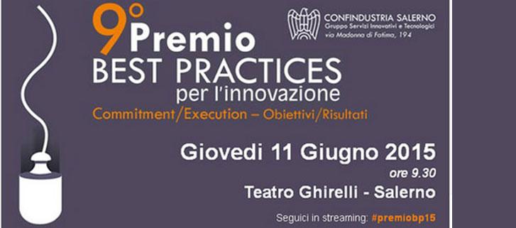 Estensa Srl al 9° premio Best Practices per l'innovazione