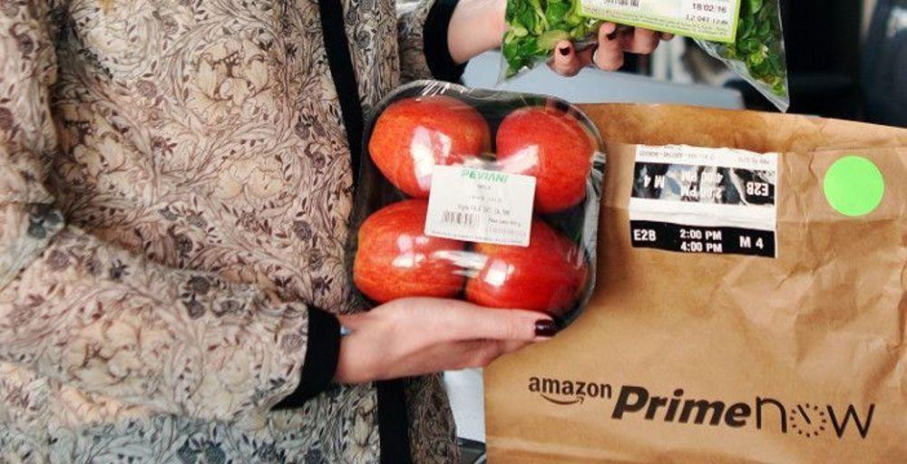 Amazon, parte la vendita online di ortofrutta